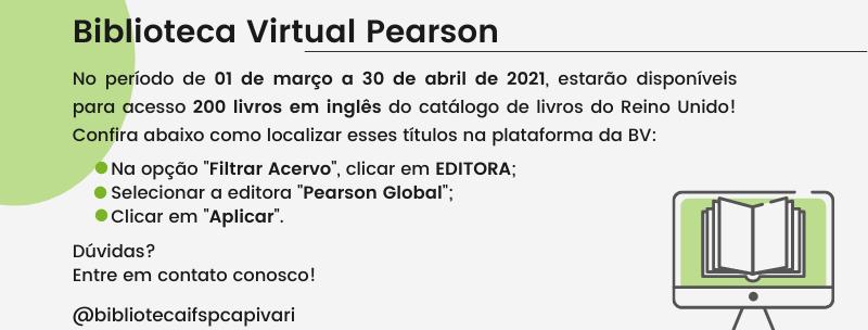 Novidades na plataforma da Biblioteca Virtual Pearson!