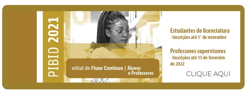 Edital de Fluxo Contínuo   Alunos e Professores
